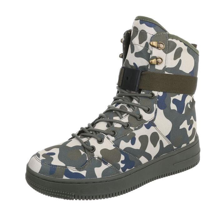 messieurs Sneaker High Top | coureur chaussures de course | sportif Chaussures de loisirs | flâneurs Chaussures à lacets |