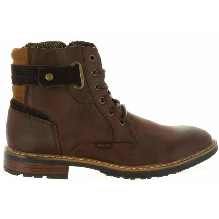 Bottines pour Homme REFRESH 63980 C MARRON