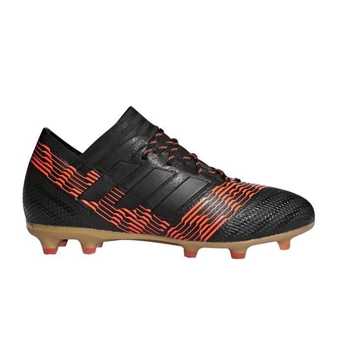 d46494d5239 Chaussures football adidas Nemeziz 17.1 FG Noir-Orange Junior - Prix ...