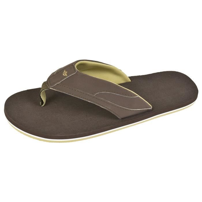 Dockers Chad Wide-band Sport Flip Flop Sandal WRBMI Taille-M