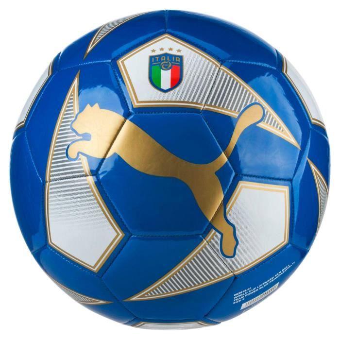 ballon fan italie coupe du monde 2018 bleu bleu marine taille 5 prix pas cher cdiscount. Black Bedroom Furniture Sets. Home Design Ideas