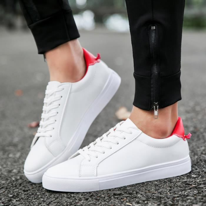 Chaussures Wxffzhaq Baskets Blanches ®kianii Homme Casual thBsQxdCr