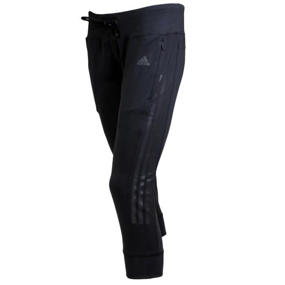 Noir Vente Femme 4 Achat 3 Pant Gym Adidas Pantalon zXqxS8YxT