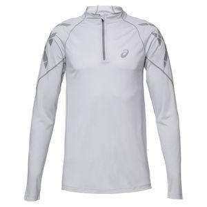 MAILLOT DE RUNNING ASICS Speed Tee shirt manches courtes - Demi zip H