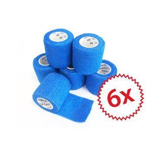 PROTECTION DE PLATRE Cohesive Lot de 6 bandages adhésifs I Bande de fix