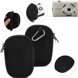 APPAREIL PHOTO COMPACT Pour Nikon Coolpix S3000 Étui de Protection en Néo