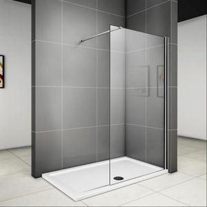 paroi de douche petite largeur