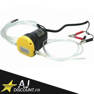 KIT DE VIDANGE MOTEUR Pompe de vidange huile moteur par aspiration 12V -