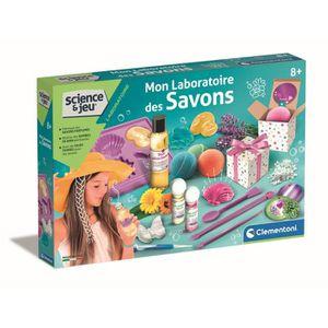 JEU DE CRÉATION SAVON CLEMENTONI Mon laboratoire des savons