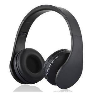 CASQUE - ÉCOUTEURS 4 EN 1 Multifonction Casque audio Sans Fil Stéréo