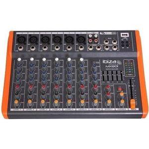 TABLE DE MIXAGE IBIZA MX801 Table de mixage musique à 8 canaux ext