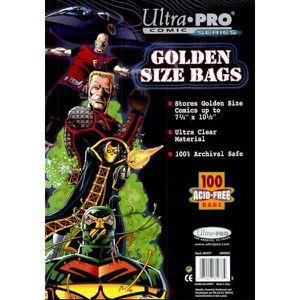 Ultimate Guard Sacs de Comic refermables Taille magazine lot de 100