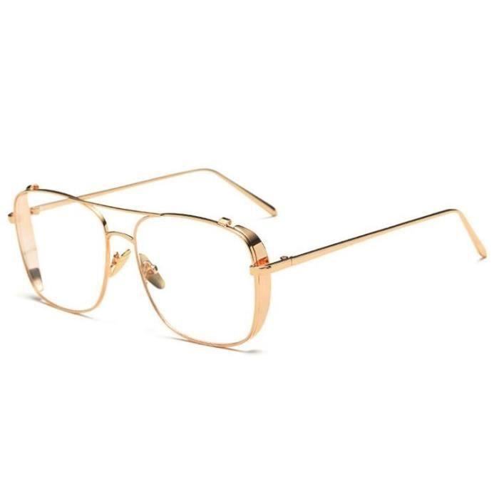 82ba8abf8c Lunette sans correction Narcos dorée doré - Achat / Vente lunettes ...