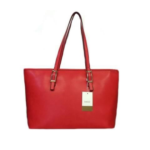 SAC A MAIN FEMME ROUGE COLLECTION GESSY