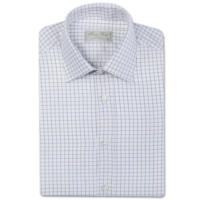 84bd9ad444dec BRUCE FIELD - Chemise homme cint… Beige - Achat   Vente chemise ...