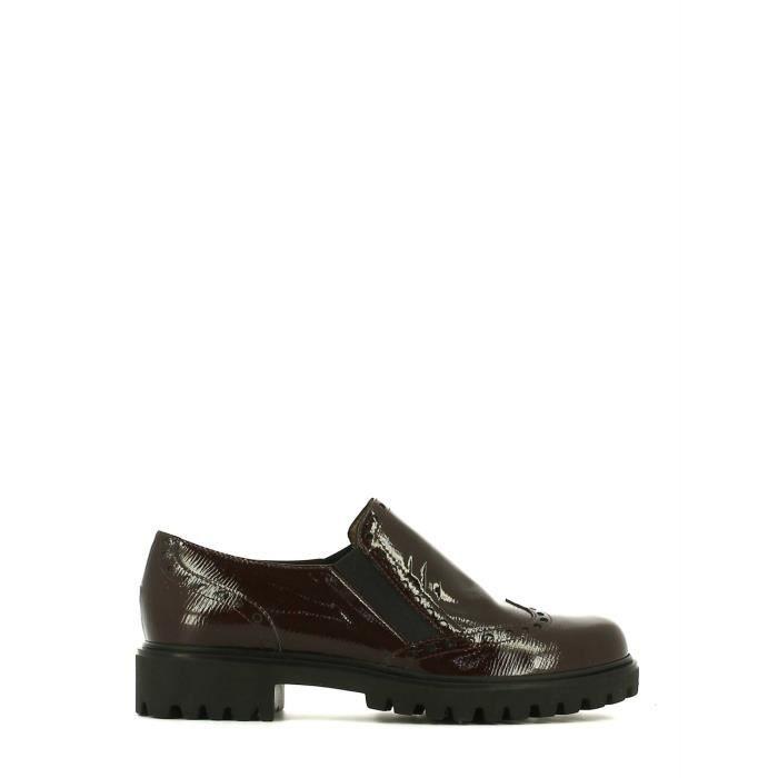 Grace shoes Richelieus Femmes Bordo'