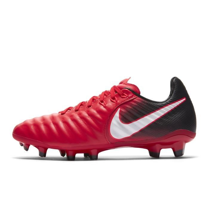 the latest 75efe 3d162 Chaussures football Nike Tiempo Legend VII FG Rouge-Noir Junior