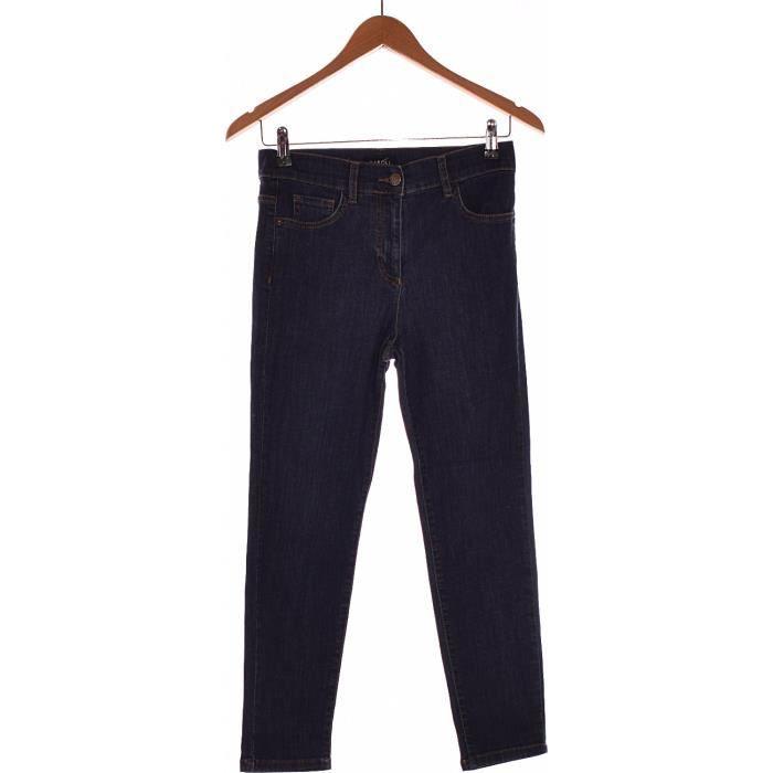 5d447aac348b Pantalon CAROLL occasion très bon état Bleu Bleu - Achat   Vente ...