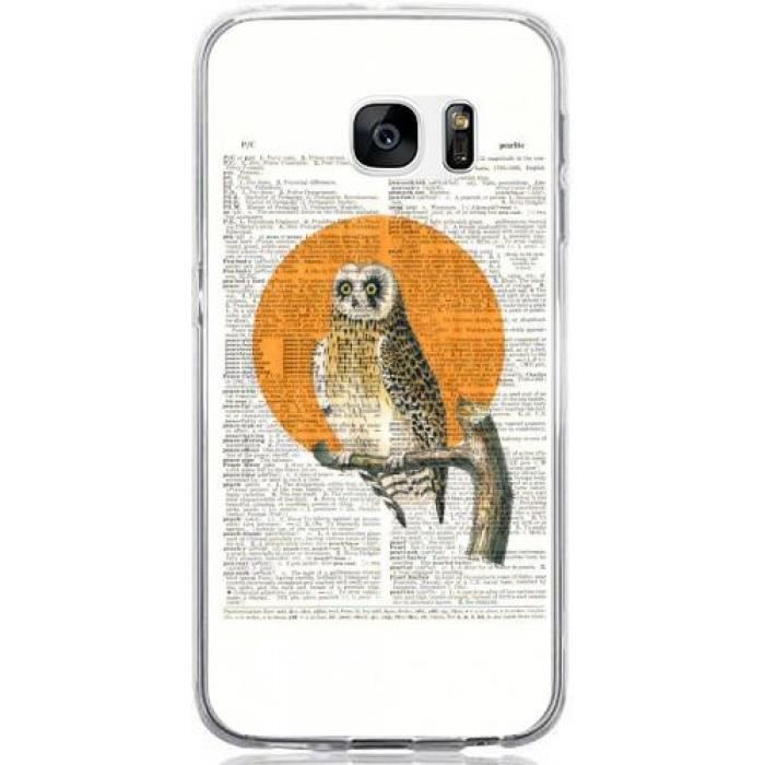 coque samsung galaxy s7 chouette