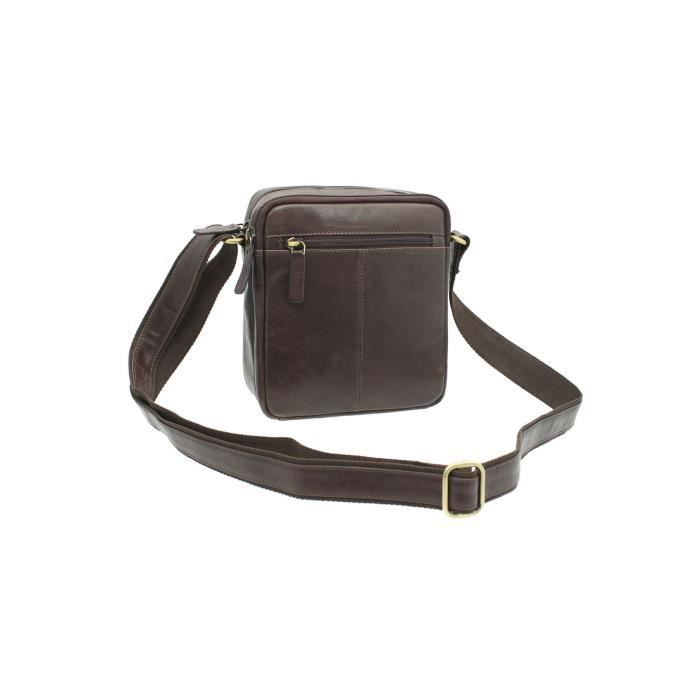 Messenger Compact cuir - Sac Voyage S8 1WLMNL
