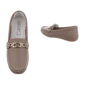 ... MOCASSIN Chaussures femme mocassins cuir Bleu foncé 36. ‹› f932aa48c9be