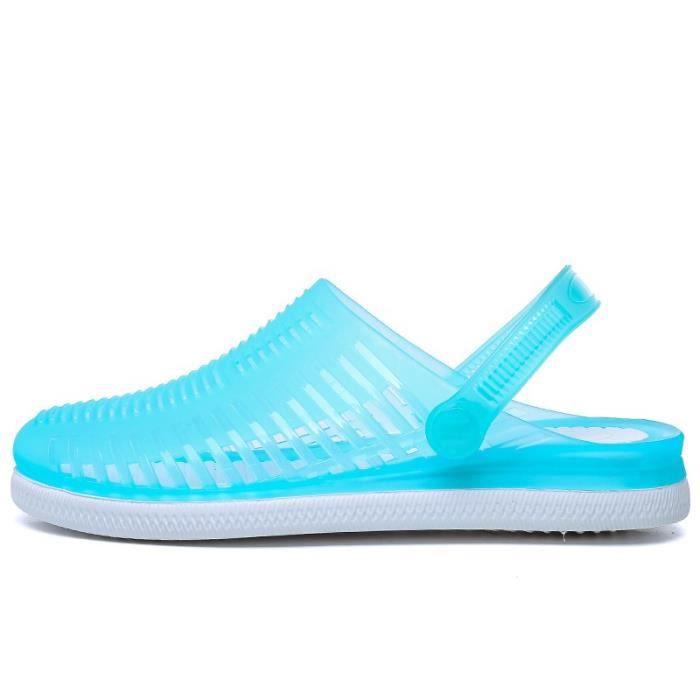 Femmes Skid résistance évider Slip-on Chaussures Chaussures de plage