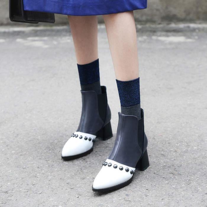 Plates Lacets classiques Chaussures homme Bottes Botte Femme T5ulFKcJ13
