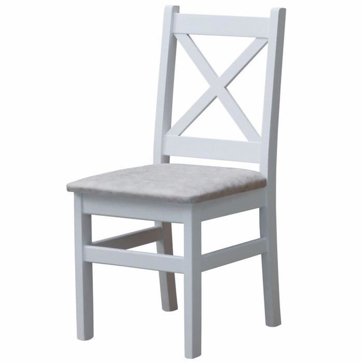 Rotin Chaise neuf blanc chaise ramasser empilable