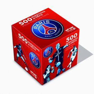LIVRE JEUX ACTIVITÉS 500 questions et défis pour tous les fans du PSG