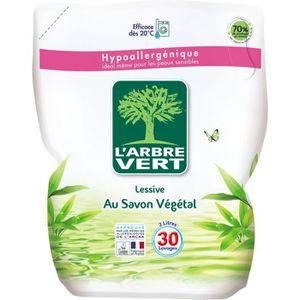 LESSIVE L'Arbre Vert Recharge Lessive Liquide Ecologique -