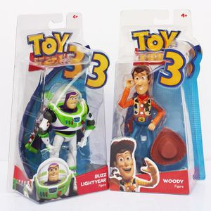 FIGURINE - PERSONNAGE Jouet Story 3 Buzz Lightyear avec vent jouet woody