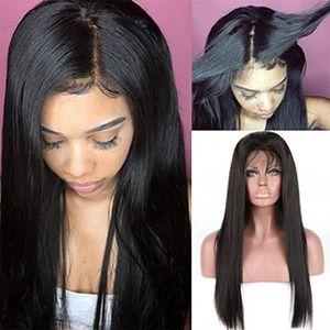 14Pouce Perruque Naturelle Cheveux Humain