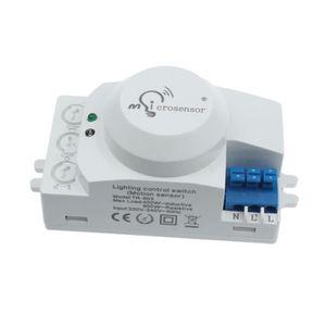 DÉTECTEUR DE MOUVEMENT commutateur de détecteur de mouvement à micro-onde