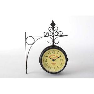 Horloge murale métal - Achat / Vente Horloge murale métal pas cher ...