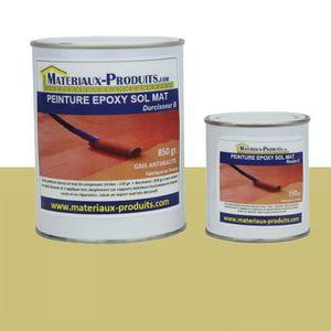 PEINTURE - VERNIS Peinture EPOXY sol et mur MAT beige (sable) 1 Kg S