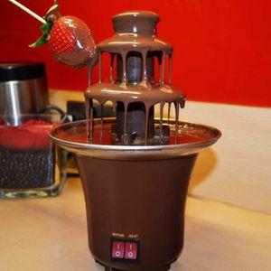 FONTAINE A EAU BRUN Fontaine A Chocolat Fondue Electrique (Trois