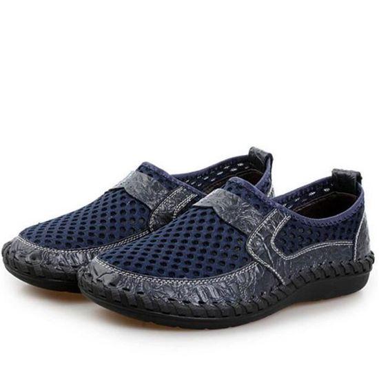 Moccasin Luxe Chaussures Grande Mode Nouvelle Supérieure Classique Qualité  Homme Ete 2017 Confortable Marque De pfO84nfW ... fb301b37957