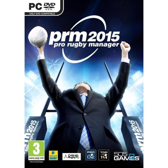 JEU PC Pro Rugby Manager 2015 Jeu PC
