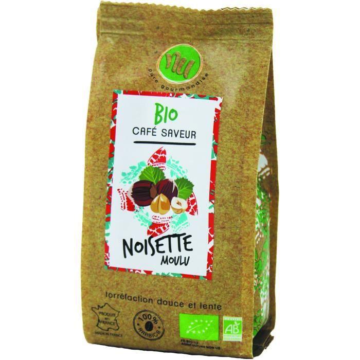 NU Café Bio Saveur Noisette Sachet 125g
