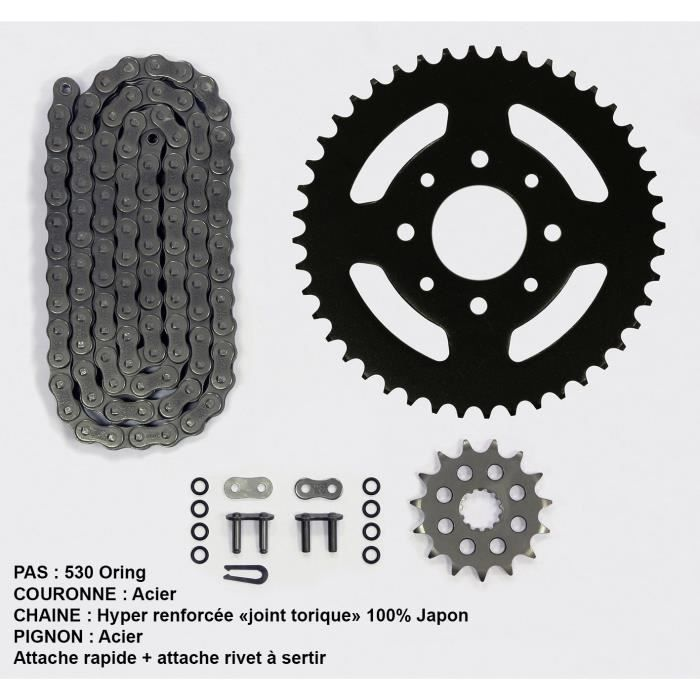 Kit chaîne pour Yamaha Xjr 1300 de 01-03