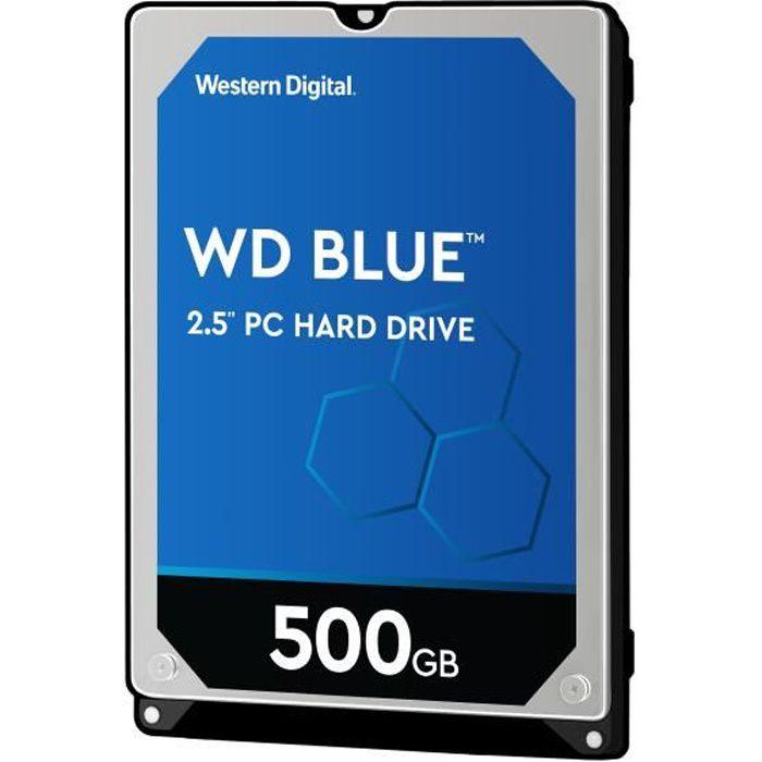 Western Digital Disque dur interne Blue WD5000LPCX - 500Go - 16Mo - 2.5 \