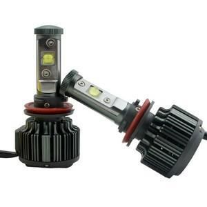 MOTO Kit LED V16 Turbo Ventilé 80W - 8000 Lumens (H7)
