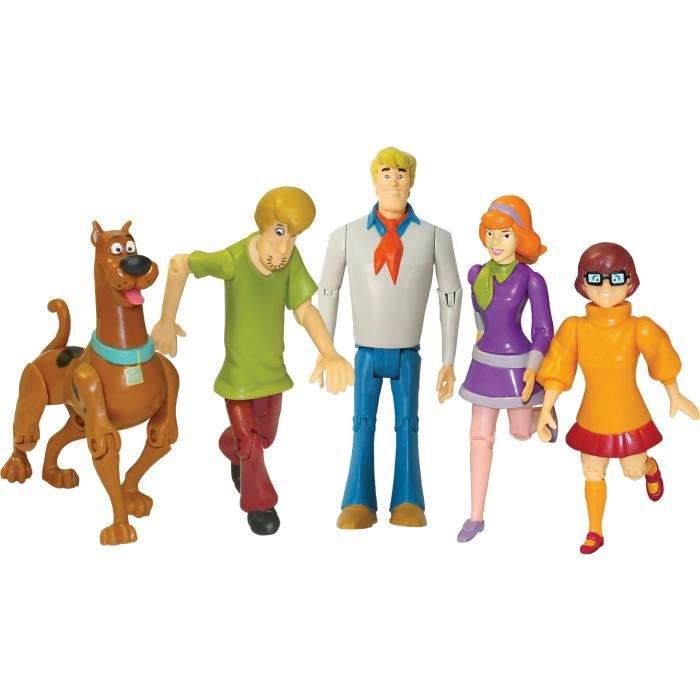 Scooby doo le scooby gang figurines 15cm achat vente - Personnage scooby doo ...