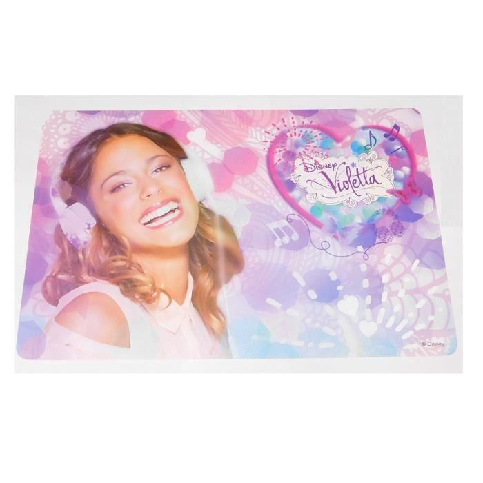 Set de table Violetta Disney Dessous Bureau Enfant Fille 017