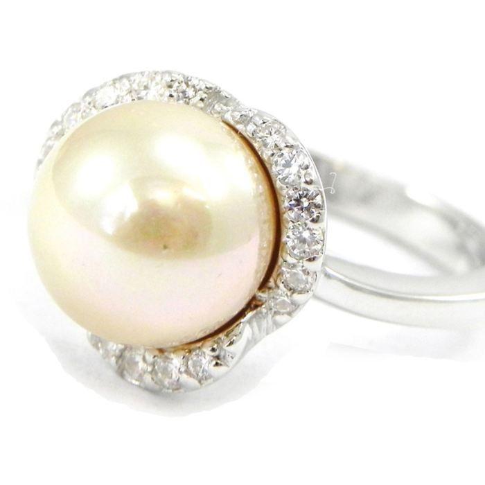 Bague Pearl Beauty blanc