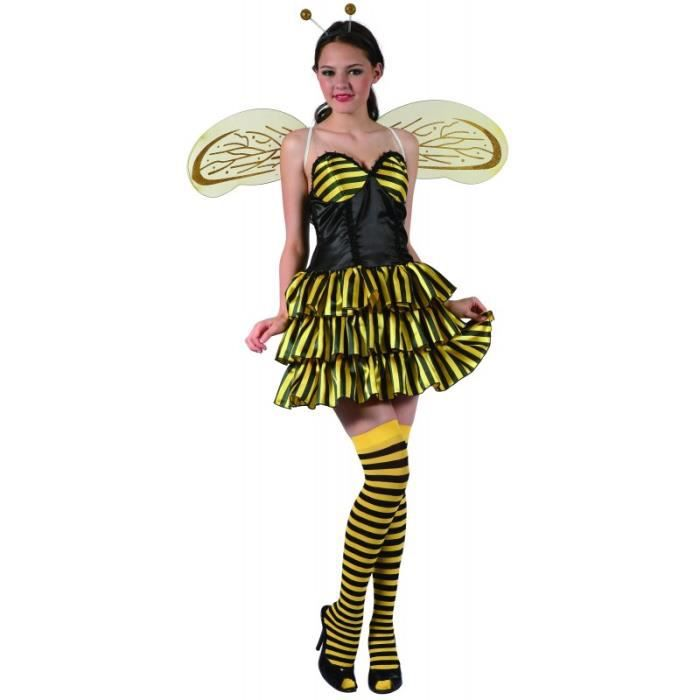deguisement femme abeille achat vente jeux et jouets. Black Bedroom Furniture Sets. Home Design Ideas