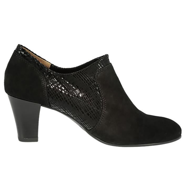 CAPRICE Chaussures Elisabeth noir