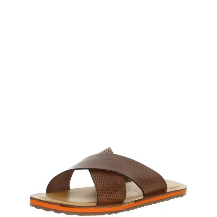 3f670bf71732cb Bugatti Sandales ref_bug43201 Cognac marron - Chaussures Sandale GH8HUA1Z -  destrainspourtous.fr