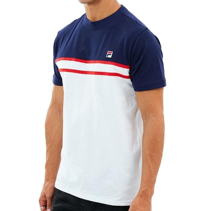 Shirt Fila Achat Vente T Blanc Baldi Tee Homme Yb6fgy7v