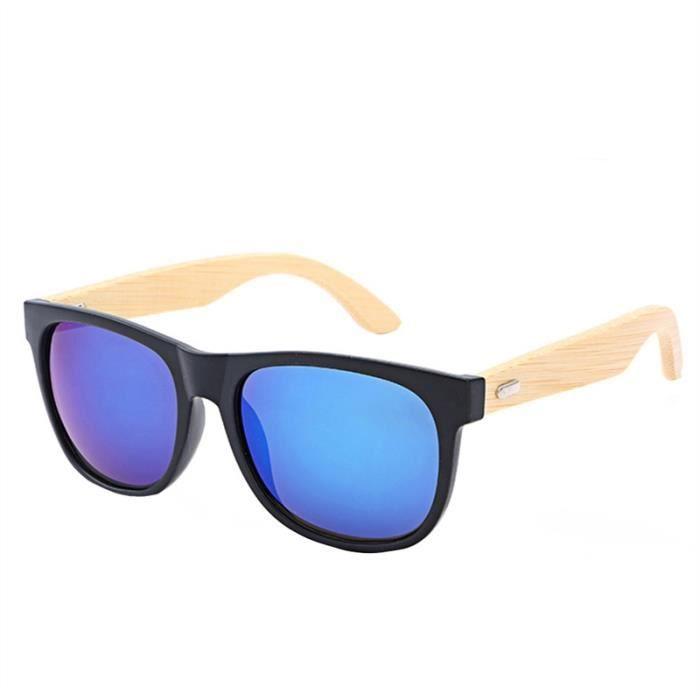 Hommes Femmes Lunettes de soleil rétro avec protection UV Fonction